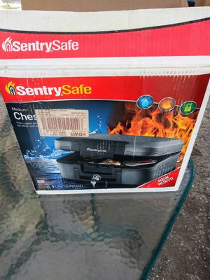 NEW SENTRY WATER PROOF FIRE RESISTANT CHEST FILE SAFE WITH 2 KEYS $35 for Sale in Fort Worth, TX