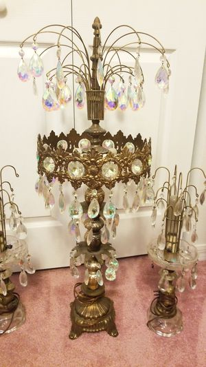 Antique Lamps lot of 3 for Sale in Tampa, FL