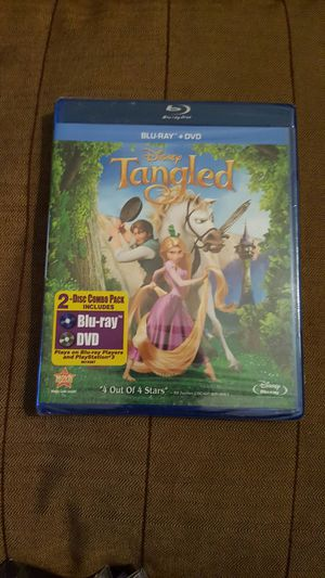 Disney Tangled Blu-ray combo for Sale in Anaheim, CA