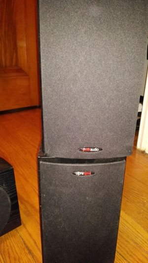 Pioneer center channel/Polk Audio bookshelf speakers for Sale in Detroit, MI