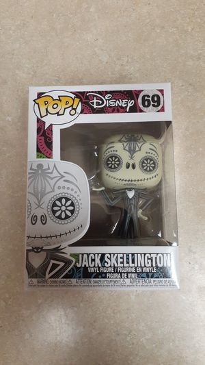 FUNKO POP! DISNEY #69 DAY OF THE DEAD JACK SKELLINGTON for Sale in Newport Beach, CA