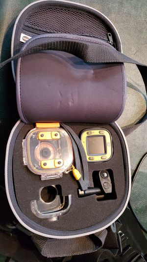 Vtech action camera with carrying case and EEE kit for Sale in Ontario, CA