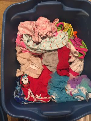 Huge full box of baby girl clothes 0-3 months for Sale in Virginia Beach, VA