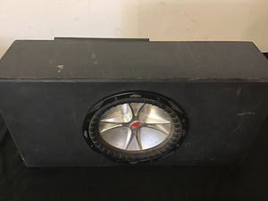 KICKER SUBWOOFER and PIONEER 760 Amplifier for Sale in Escondido, CA