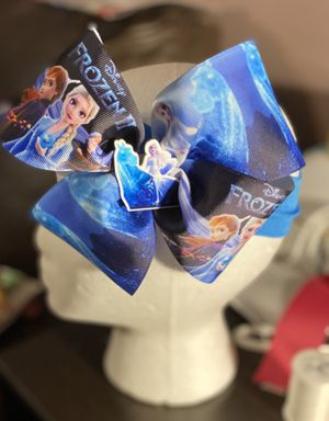Frozen 2 movie inspired bow for Sale in Merrillville, IN