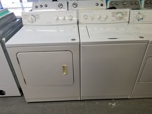 Kitchen aid heavy duty super capacity plus washer and dryer set 1 year warranty for Sale in Saint Petersburg, FL
