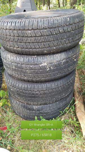 Goodyear Wrangler SR-A tires for Sale in Kingsley, MI