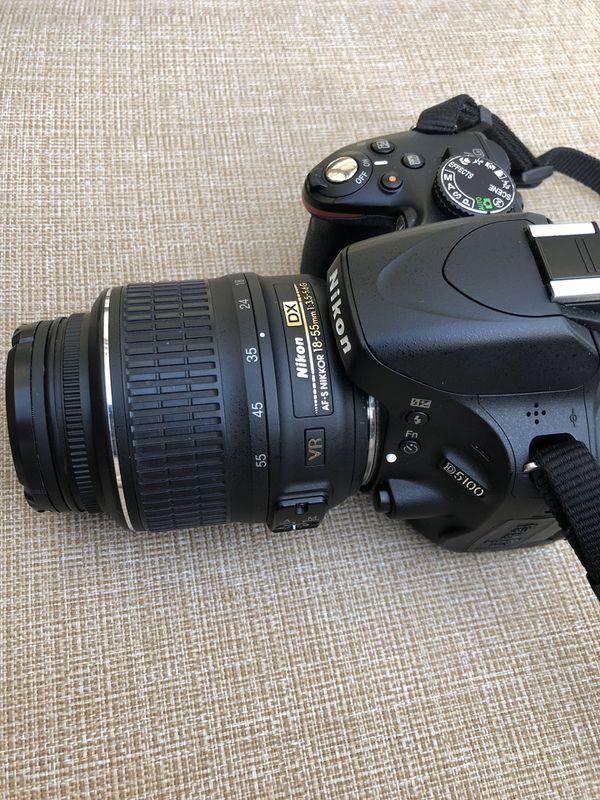 Nikon D D5100 16.2MP Digital SLR Camera - Black (Kit w/ AF-S DX VR 18-55mm Lens)