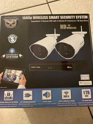 Night owl 1080p wireless smart security systems for Sale in Fort Pierce, FL