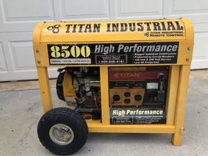 8500 Titan Generator for Sale in Port St. Lucie, FL