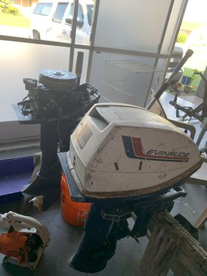 6HP Evinrude boat motor for Sale in NEW PRT RCHY, FL