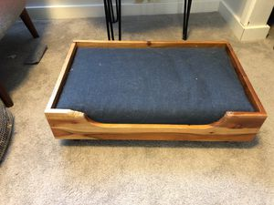 Modern Wood Framed Pet Bed for Sale in Bellevue, WA