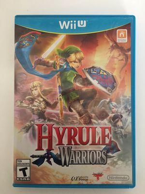 Hyrule Warriors for Nintendo Wii U - Link Zelda for Sale in Brentwood, CA