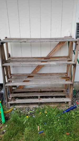 Wooden Shelving Unit for Sale in Vancouver, WA