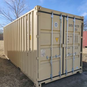 20ft One Trip Beige Shipping Container For Sale for Sale in Keller, TX