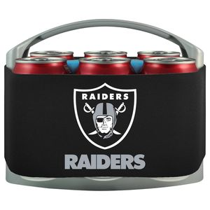 LAS VEGAS RAIDERS COOLER WITH NEOPRENE SLEEVE AND FREEZER COMPONENT for Sale in Baldwin Park, CA