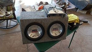 Mtx audio amplifier and car speaker for Sale in South Dos Palos, CA