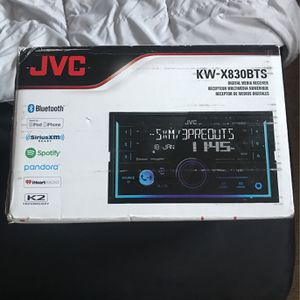 JVC Double Din Media Receiver/Radio for Sale in Townville, SC