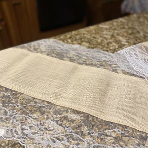 Lace And Burlap Wedding Table Runners for Sale in Lutz, FL