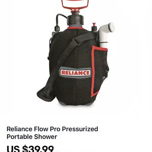 Reliance Flow Pro Pressurized Portable Shower for Sale in Stockton, CA