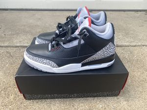 Jordan 3 Retro Black Cement OG (2018) for Sale in Dallas, TX