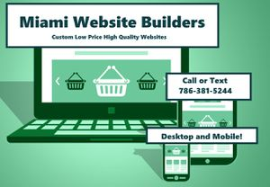 Website Designers for Sale in Miami, FL