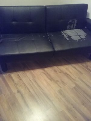 Full Size Futon with cup holders for Sale in Nashville, TN