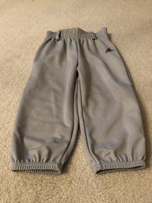 Adidas sports baseball pants - youth extra Small for Sale in Tampa, FL