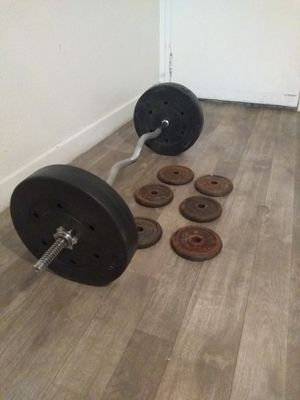 weight plates. 80 Lbs ..2#25..6#5 for Sale in Glendale, AZ
