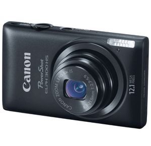 Canon PowerShot ELPH 300 HS 12.1 MP Digital Camera (Black) for Sale in Glendale Heights, IL