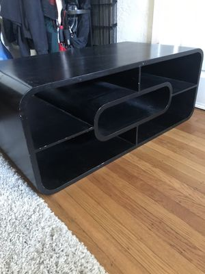 Solid, functional wooden coffee table with shelves for Sale in Berkeley, CA