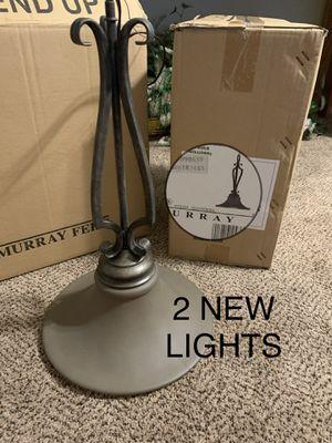 Pendant lights (2). NEW. Chandelier lights. Kitchen lights. Island lights. for Sale in Glendale, AZ
