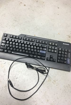 Lenovo keyboard (compatible with other computer brands) for Sale in West Carson, CA