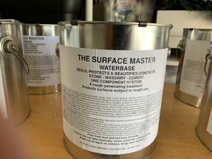 Surface Master driveway paint was $ 99.99 per gal will sell for $50.00 each for for Sale in Sebastian, FL