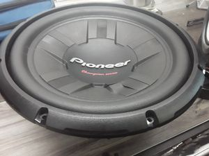 Pioneer 12 inch sub 60 for Sale in Richmond, VA