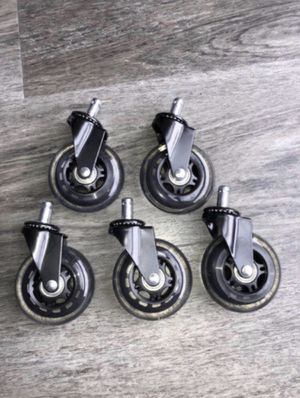 Brand new office chair wheels for Sale in Tampa, FL