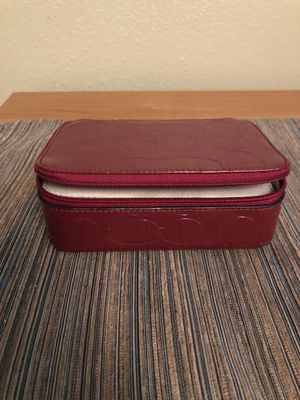 Coach travel jewelry case for Sale in Huntington Beach, CA