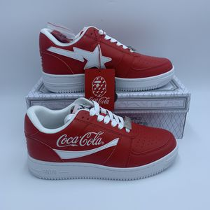A BATHING APE x COCA COLA BAPE STA LOW M1 MENS/ Red / Size 8 for Sale in Tustin, CA
