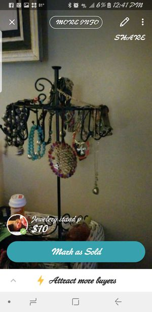 Two jewelry stands for Sale in Prattville, AL