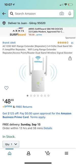 WiFi range extender router for Sale in Tracy, CA
