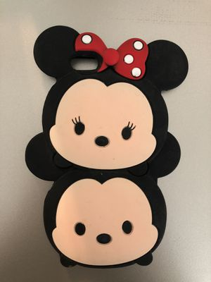 Iphone 6 plus case - Brown and Mickey/Minnie for Sale in Tampa, FL