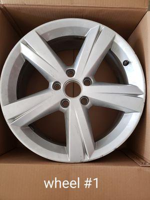 "Two 17"" 2014 Volkswagen Passat OEM wheels for Sale in St. Louis, MO"