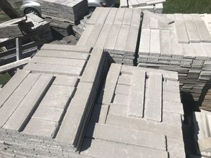 Patio pavers sold by square foot for Sale in Fort Worth, TX