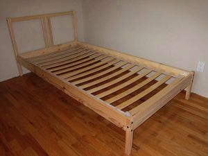 IKEA TARVA TWIN PINE WOODEN BED FRAME WITH HEADBOARD/ FOOTBOARD & PLANKS!!!!🧡💛🧡💝💛💤 for Sale in San Francisco, CA