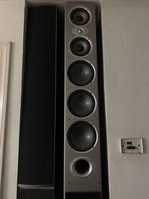 Polk audio Rti 12 tower speaker for Sale in Bakersfield, CA