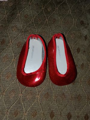 American Girl doll red shoes for Sale in Grand Prairie, TX
