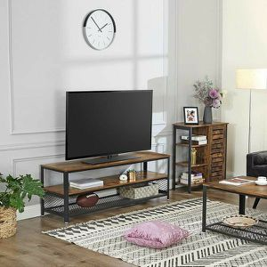 TV Stand / Lengthened TV Cabinet / Console / Coffee Table with Metal Frame for Sale in South El Monte, CA