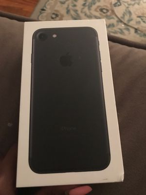 Iphone 7 black BOX for Sale in North Chesterfield, VA