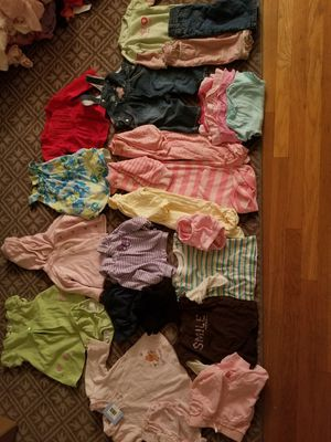 Baby girl vintage clothing lot bundle 3-6 and 6 months for Sale in Rialto, CA
