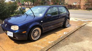 2002 vw gti 2dr hatchback 176xxx miles got new tires brand new clutch new clutch slave cylinder ..forge blow off valve new head lights. windows tinted for Sale in Arlington, VA